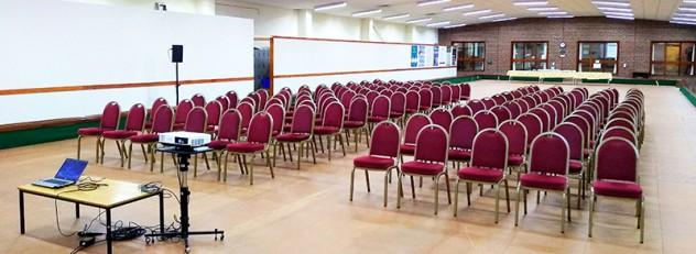 Conference Setup Cambridge Chesterton Bowls Club